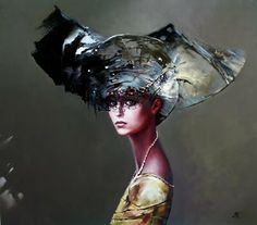 Polish Artist Karol Bak. Beautiful Angels and Demons ~ Blog of an Art Admirer