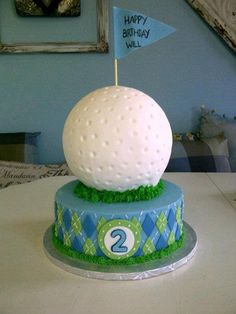 golf cake.. Love this Amber!!