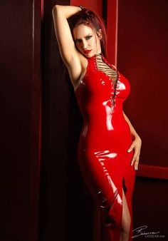 Bianca Beauchamp Photos Only Latex Girls, Latex Fashion, Kinky, Lady In Red, Bodycon Dress, Glamour, Leggings, Lace, Sexy