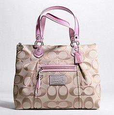 I do have a Coach purse problem.