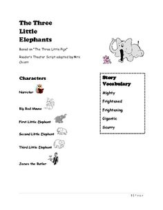 Enjoy practicing reading with expression with this fractured fairy tale Reader's Theater script based on the Three Little Pigs. Reader's Theater pr... Reading Resources, Reading Activities, Classroom Activities, Fractured Fairy Tales, Fairy Tales Unit, Teaching Theatre, Brain Stem, Readers Theater, College Classes
