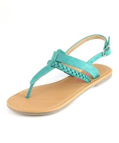 Another great find on #zulily! Bella Marie Emerald Basic T-Strap Sandal by Bella Marie #zulilyfinds
