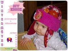 Nähanleitungen Kind - Wintermütze, Mütze, Ebook, Nähanleitung - ein Designerstück von MummelitoDIY bei DaWanda