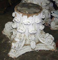 Salvaged Column Capital