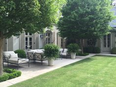 best plants for a courtyard garden Makale 3 Back Gardens, Small Gardens, Outdoor Gardens, Formal Gardens, Backyard Patio, Backyard Landscaping, Italian Garden, Small Garden Design, Patio Design