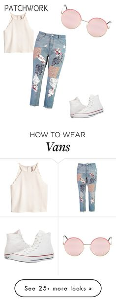 """Untitled #9"" by fashionistasnotebook on Polyvore featuring Boohoo, Converse and Vans"