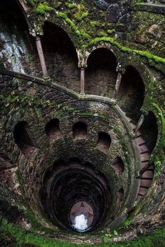 Abandoned Places on Twitter: Mossy, spiral staircase