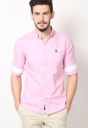 9a9e1ae8 U.S. Polo Assn. Casual Shirts for Men - Buy U.S. Polo Assn. Men Casual Shirts  Online in India