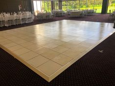 Our white dance floor, set up for one of our customer's wedding day! Thank you for trusting #funtimepartyhire to one of your most awaited life events. We always make sure that we provide the best service and product possible. #dancefloor #wedding #partyhiresyndye #igerssydney #sydney_insta