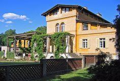 Gardener's House, Schloss Charlottenhof - Schinkel  Potsdam Germany