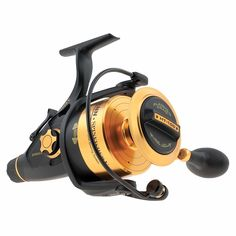 Spinfisher V Spinning Reel - Gear Ratio, Line Retrieve, 35 lb Max Drag, Ambidextrous Surf Fishing, Best Fishing, Fishing Reels, Fishing Tackle, Fishing Tips, Fishing Boats, Fishing Lures, Fishing Videos, Saltwater Reels