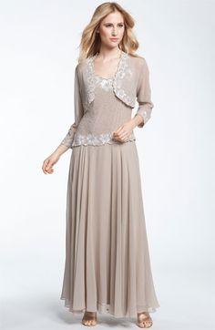 J Kara Beaded Dress & Bolero available at #Nordstrom