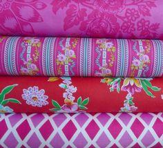 Happy Land Half Yard Bundle 4, $19.00 at Skye Reve Fabrics