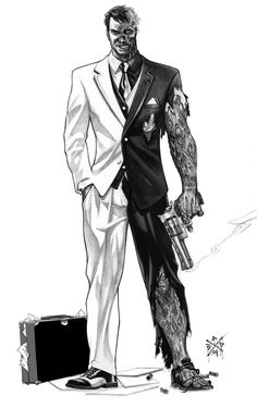 Two-Face #Black & #White