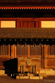 Beautiful Brown Japanese Architecture #Fukuoka #japan
