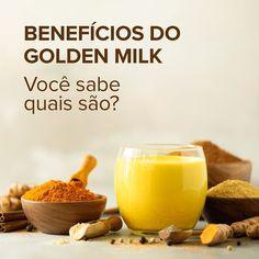 Receita da medicina ayurvedica, o #GoldenMilk mistura açafrão, cúrcuma e outras especiarias que oferecem benefícios ao corpo e à mente. Ele tem propriedades digestivas, anti-inflamatórias e antioxidantes, além de ajudar na imunidade e no controle da ansiedade.💛 . Golden Milk, Sweet Potato, Potatoes, Vegetables, Food, Spices, Anxiety, Medicine, Recipes