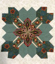 Saturday at the Quilt Museum - Lucy Boston Patchwork of the Crosses - Part 4