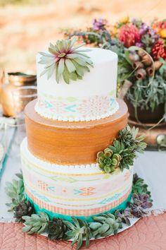 Southwestern Design Cake New Mexico Wedding Cake Southwestern Wedding Cake Modern Fondant Wedding Cake Konditor Meister Wedding Cake Fall Wedding, Rustic Wedding, Our Wedding, Dream Wedding, Wedding Ideas, Wedding Places, Wedding Book, Chic Wedding, Cupcakes