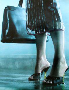 Amber Valletta by Glen Luchford For Prada Campaign Spring 1998
