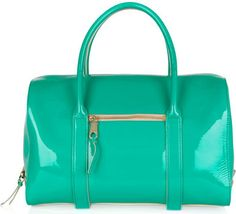Chloe Madeline bag in patent turquoise leather. OMG need!