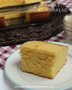 Sweet Cornbread-the perfect moist cornbread!