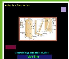 Wooden Gate Plans Designs 225539 - Woodworking Plans and Projects!