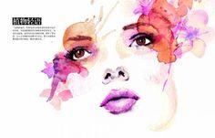 ilustrações com aquarela - Pesquisa Google