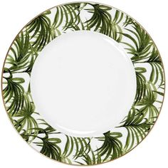 House Of Hackney Home Palmeral Dinner Plate (66,620 KRW) ❤ liked on Polyvore featuring home, kitchen & dining and dinnerware