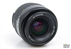 Nikon 35-70mm f/3.3-4.5 AF Nikkor standard zoom lens Nice! 4522153