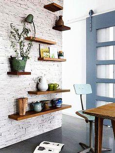 shelves different sizes