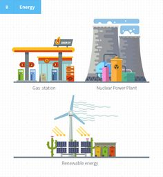 Construct your city, flat vector KIT - Illustrations - 1 Construct your city…