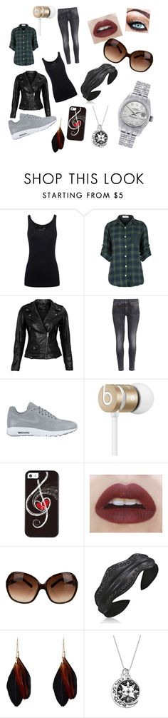 """""""Barfuß durchs Leben"""" by suleikasilverstarff ❤ liked on Polyvore featuring Juvia, VIPARO, H&M, NIKE, Beats by Dr. Dre, Tory Burch, Bling Jewelry and Rolex"""