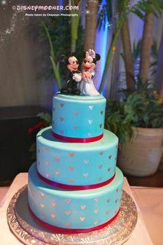 Mickey's Delight Wedding Cake.