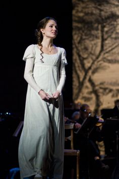 "Laura Osnes as Elizabeth Bennet in ""Pride and Prejudice, A Musical"""
