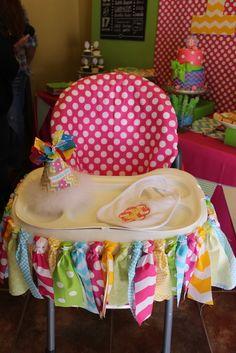 Chevron & Polka Dots Birthday Party Ideas | Photo 1 of 37 | Catch My Party
