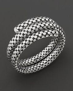 "John Hardy ""Dot"" Coil Bracelet | Bloomingdale's"