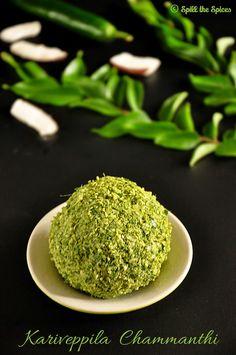 Kariveppila Chammanthi | Kerala Style Curry Leaves Chutney