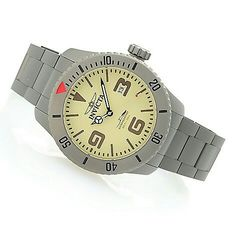 Invicta 50mm Pro Diver Military Automatic Titanium Bracelet Watch