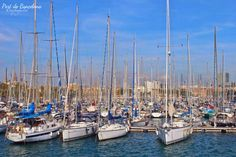 one of Europe's ports in the Mediterranean, as well as Catalonia's largest port, tying with Tarragona. It is also Spain's third and Europe's ninth largest container port. #port #barcelona #traveller #europe #myrnadventure #explore
