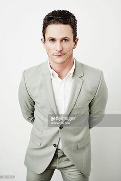 ニュース写真 : Jonathan Tucker from DirecTV's 'Kingdom' poses...