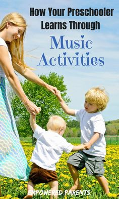 The benefits are music are huge during the preschool years. Here are just some of the developmental areas that are stimulated through music activities. Preschool Music Activities, Preschool Kindergarten, Learning Activities, Preschool Activities, Preschool Transitions, Preschool Readiness, Movement Activities, Preschool Projects, Preschool Books