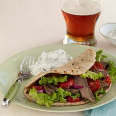 Beef Gyros - looks like the recipe needs more spices....