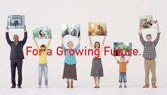 TOSHIBA | For a Growing Future. | LIGHT THE WAY DESIGN OFFICE #TOSHIBA #Growing #Future #branding
