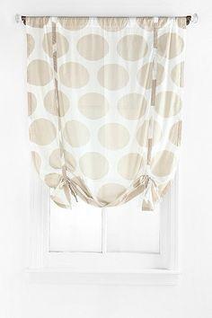 Magical Thinking Giant Dot Draped Shade Curtain (kitchen)