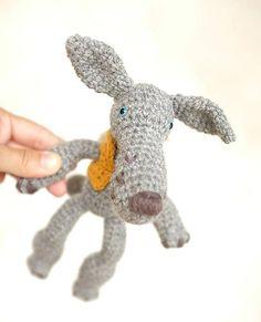 milasila / vlk Cute Crochet, Dinosaur Stuffed Animal, Toys, Animals, Activity Toys, Animales, Animaux, Clearance Toys, Animal