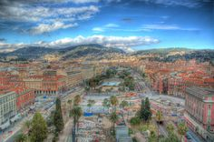 HDR photo of Nice, Cote D'Azur