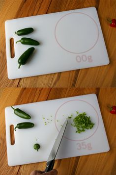 The 'Cutting Scale': neato -I can see this being used for alternate purposes.