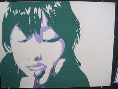 tonal portrait collage