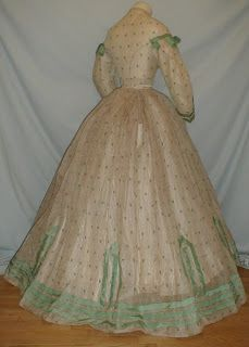 Super Cute late American Civil War/mid 1860s outfit