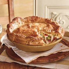 24 Chicken Casserole Recipes: Double-Crust Chicken Pot Pie